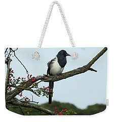 September Magpie Weekender Tote Bag