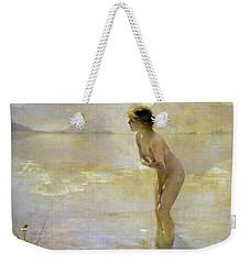 September Morn Weekender Tote Bag