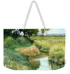 September Morning, Allen Creek Weekender Tote Bag