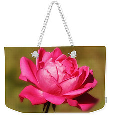 September Rose Up Close Weekender Tote Bag