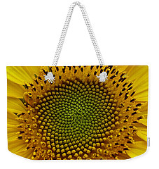 September Sunflower Weekender Tote Bag by Richard Cummings