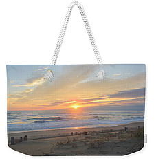 Weekender Tote Bag featuring the photograph September Sunrise  30 by Barbara Ann Bell
