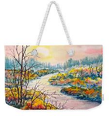 September Sunrise Weekender Tote Bag