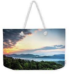Weekender Tote Bag featuring the photograph September Sunrise by Douglas Stucky