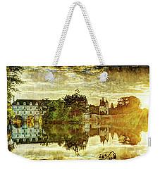 September Sunset In Chenonceau - Vintage Version Weekender Tote Bag