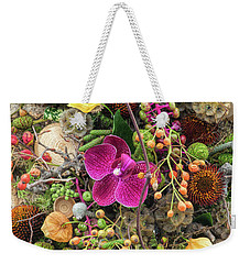 Weekender Tote Bag featuring the photograph Septembers Collection by Tim Gainey