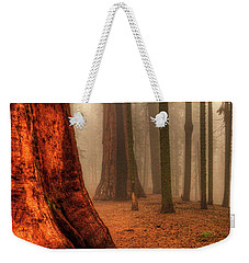 Sequoias Touching The Clouds Weekender Tote Bag