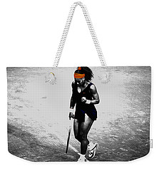 Serena Williams Match Point 3a Weekender Tote Bag by Brian Reaves