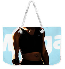 Serena Williams Match Point IIi Weekender Tote Bag by Brian Reaves