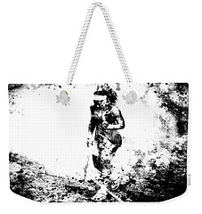 Serena Williams Dont Quit Weekender Tote Bag by Brian Reaves