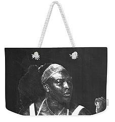 Serena Williams Weekender Tote Bag by Semih Yurdabak