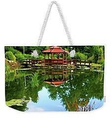 Serene Garden Weekender Tote Bag