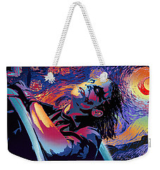 Serene Starry Night Weekender Tote Bag by Surj LA