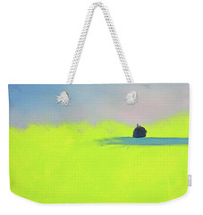 Weekender Tote Bag featuring the painting Serene by Jeanette French