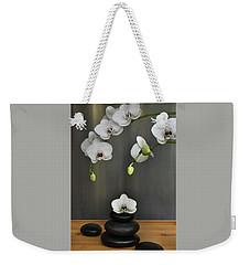 Serene Orchid Weekender Tote Bag