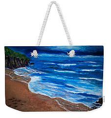 Serene Seashore Weekender Tote Bag