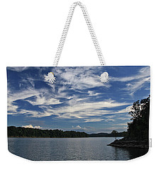Weekender Tote Bag featuring the photograph Serene Skies by Gary Kaylor