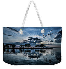 Serene Summer Water And Clouds Weekender Tote Bag