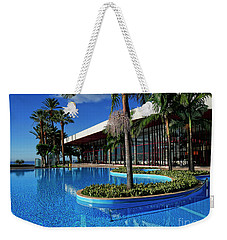 Serene Swimming Pool Weekender Tote Bag