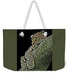 Serengeti Leopard 2a Weekender Tote Bag
