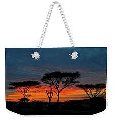 Serengeti Sunrise Weekender Tote Bag