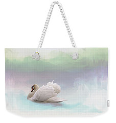 Weekender Tote Bag featuring the photograph Serenity by Annie Snel