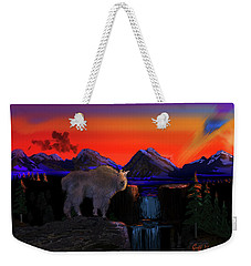 Serenity At Sunrise Weekender Tote Bag by J Griff Griffin
