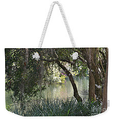 Weekender Tote Bag featuring the photograph Serenity by Carol  Bradley