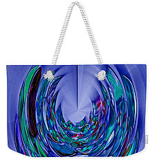 Weekender Tote Bag featuring the photograph Serenity by Nareeta Martin