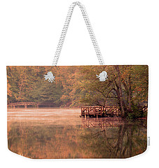 Weekender Tote Bag featuring the photograph Serenity by Okan YILMAZ