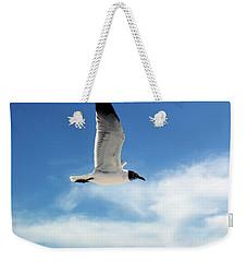 Serenity Seagull Weekender Tote Bag