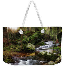 Weekender Tote Bag featuring the photograph Serenity Sunrise by Bill Wakeley