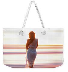 Serenity Sunset Weekender Tote Bag