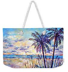Serenity Under The Palms Weekender Tote Bag