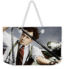 Weekender Tote Bag featuring the photograph Sergei Eisenstein by Granger
