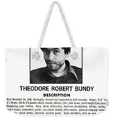 Serial Killer Ted Bundy Weekender Tote Bag