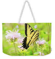 Series Of Yellow Swallowtail #4 Of 6 Weekender Tote Bag