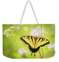 Series Of Yellow Swallowtail #6 Of 6 Weekender Tote Bag