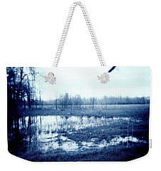 Series Wood And Water 3 Weekender Tote Bag