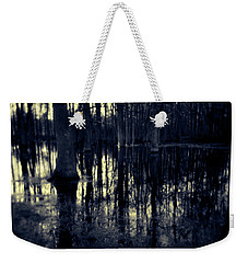Series Wood And Water 4 Weekender Tote Bag