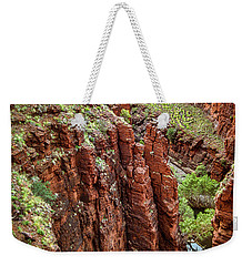 Serious Crags Weekender Tote Bag