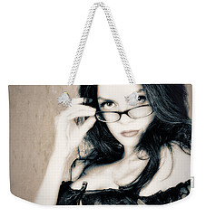 Weekender Tote Bag featuring the photograph Seriously Re-do  ... by Chuck Caramella