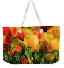 Weekender Tote Bag featuring the photograph Seriously Spring by Wendy Wilton