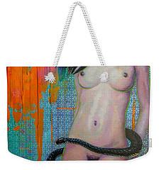 Serpentine Weekender Tote Bag