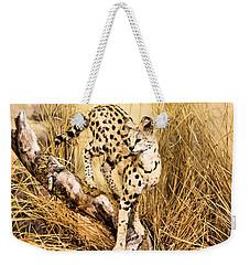 Serval Weekender Tote Bag