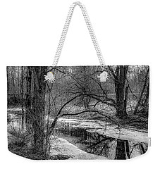 Weekender Tote Bag featuring the photograph Set On Defrost by Kendall McKernon