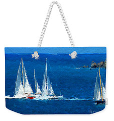 Set Sail Weekender Tote Bag by Anthony Fishburne
