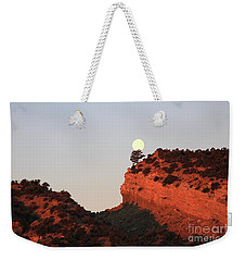 Setting Full Moon Weekender Tote Bag