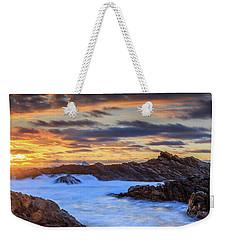 Setting Sun At Canal Rocks Weekender Tote Bag