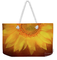 Weekender Tote Bag featuring the photograph Setting Sun by Darren Fisher
